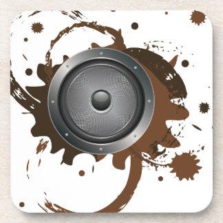 Grunge-AudioLautsprecher 2 Untersetzer