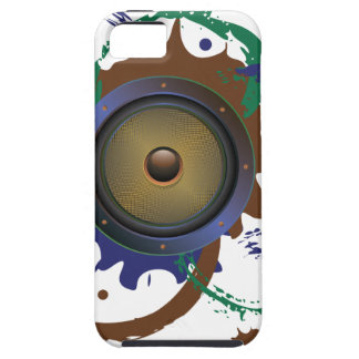Grunge-AudioLautsprecher 3 iPhone 5 Etui