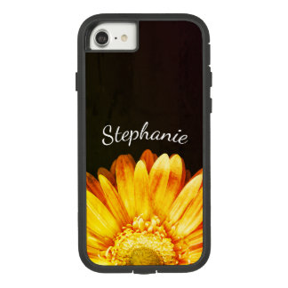 Grunge-Blumen-Malerei-Hintergrund mit Namen Case-Mate Tough Extreme iPhone 8/7 Hülle