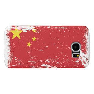 Grunge-China-Flagge