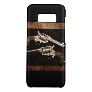 Grunge-Cowboy-Retro Western-Land-Pistolen Case-Mate Samsung Galaxy S8 Hülle