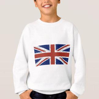 Grunge-Gewerkschafts-Jack-Flagge Sweatshirt