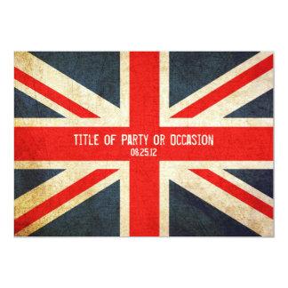 Grunge-Gewerkschafts-Jack-Party 12,7 X 17,8 Cm Einladungskarte