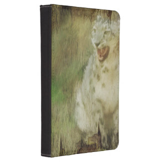 Grunge-Leopardkunst zünden 4 Hüllen an Kindle Touch Cover