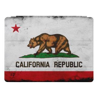 Grunge-patriotische Kalifornien-Staats-Flagge iPad Pro Hülle