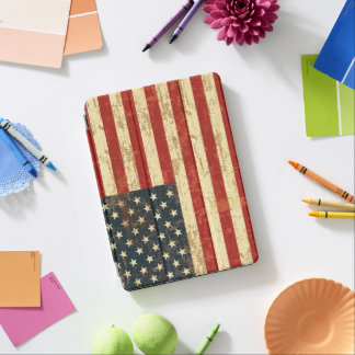 Grungy amerikanische Flagge iPad Pro Hülle
