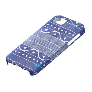 Grungy geometrischer aztekischer Muster iPhone iPhone 5 Etui