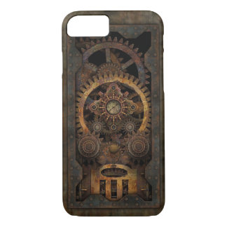 Grungy industrielle Steampunk Maschine #2 iPhone 8/7 Hülle