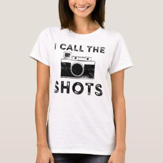 Grungy nenne ich den Schuss-Fotograf-Entwurf T-Shirt