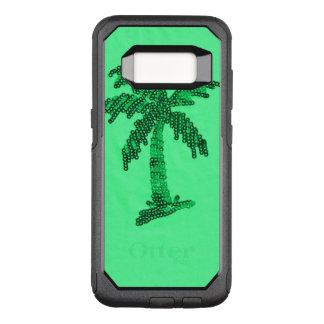 Grungy Sequined Palme-Bild OtterBox Commuter Samsung Galaxy S8 Hülle