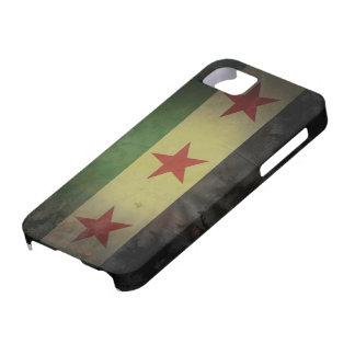 Grungy Syrien-Flagge iPhone 5 Schutzhülle