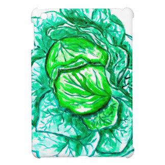 Grünkohl-Aquarell 2 iPad Mini Hülle