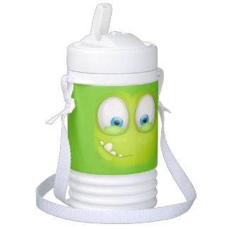 Grünliches Muglee - großer AugeCooly Igloo Getränke Kühlbox
