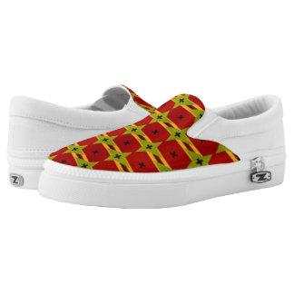Grünsterne auf der Wüste Slip-On Sneaker