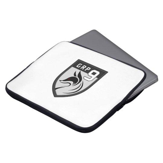 Gruppe 9 Laptoptasche Wappenlogo Laptopschutzhülle