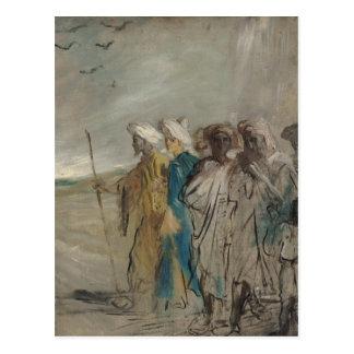 Gruppe Araber oder, Joseph verkaufte durch seine Postkarte