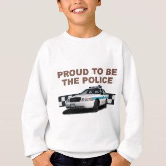 """Gruppe Checkerband """"die Polizei"""" (Nahaufnahme) Sweatshirt"""