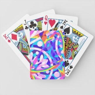 Gruppe der Farbveilchen-Veränderung Bicycle Spielkarten