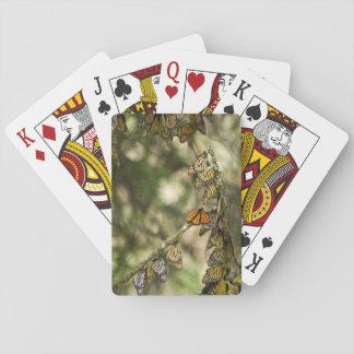 Gruppe des Monarchen Butterfies, Mexiko Spielkarten