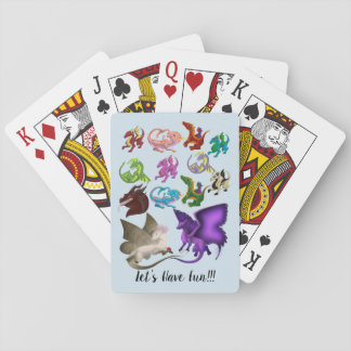 Gruppe Drache-Spielkarten Spielkarten