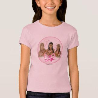 Gruppe in der rosa Blase T-Shirt