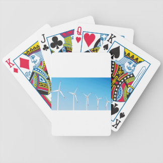 Gruppe Windkraftanlagen Bicycle Spielkarten
