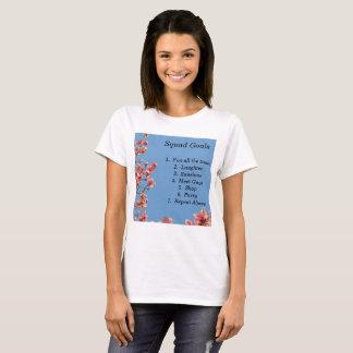 Gruppe-Ziele, Mädchen, Teens, Freunde, cool T-Shirt