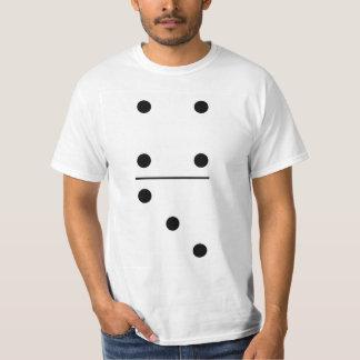 Gruppen-Kostüm der Domino-4-3 T-Shirt