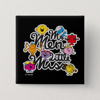 Gruppen-Logo Herr-Men Little Fräulein | Quadratischer Button 5,1 Cm