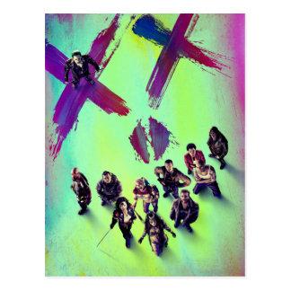Gruppen-Plakat der Selbstmord-Gruppen-| Postkarte