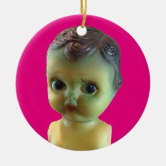 Gruselige Baby-Verzierung Keramik Ornament