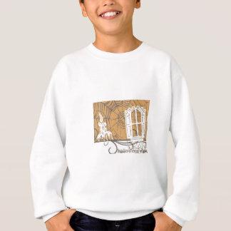 Gruselige Kerzen-Halloween-Einzelteile Sweatshirt