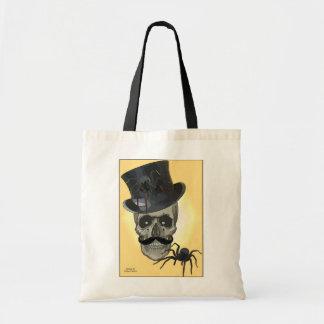 Gruselige Spinne und Schädel sacken - verschiedene Einkaufstaschen