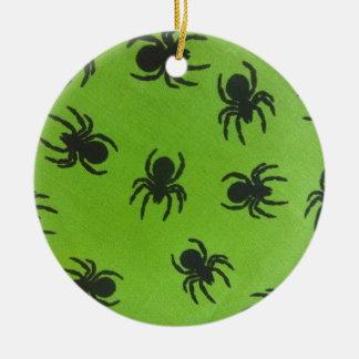 Gruselige Spinnen Keramik Ornament