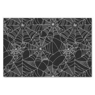 Gruselige Spinnen-Netze Seidenpapier