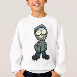 Gruseliger Hoodie-Junge 1 Sweatshirt