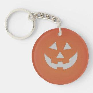 Gruseliger Kürbis Halloween Keychain Schlüsselanhänger