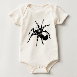 Gruseliger Tarantula-Entwurf Baby Strampler