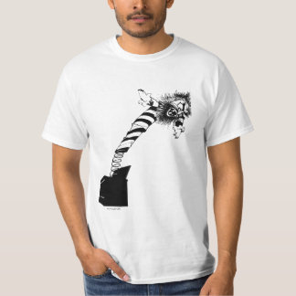 Gruseliges Jack in the Box T-Shirt