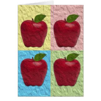 Gruß Apples Rosh Hashanah Karte