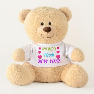 GRÜSS DICH VON NEW- YORKTeddybären Teddy