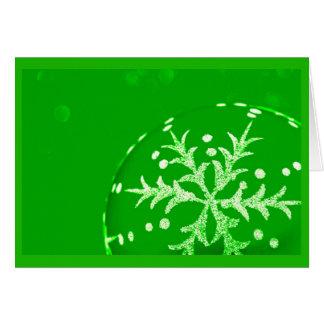 Gruß Karte-Feiertag Kunst-Weihnachten 120 Karte