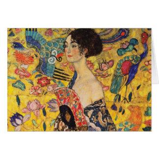 Gruß-Karte Gustav Klimt Karte