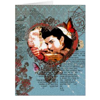 Gruß-Karte Lord-Rama Bollywood God Aum Ornam Riesige Grußkarte