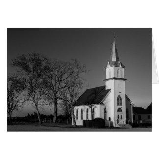 Gruß-Karte - Texas-Land-Kirche Karte