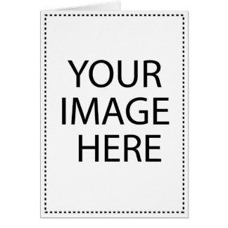 Gruß-Karten-Vertikale-Schablone Karte