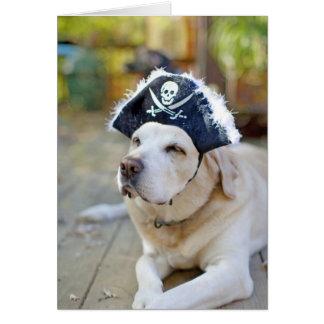 Gruß Labrador retrievers Halloween Karte