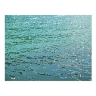 Gruß Turquois Wasser Postkarten