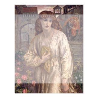 Gruß von Beatrice durch Dante Gabriel Rossetti Vollfarbige Flyer