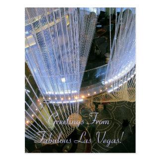 Grüße FromFabulous Las Vegas! Postkarte